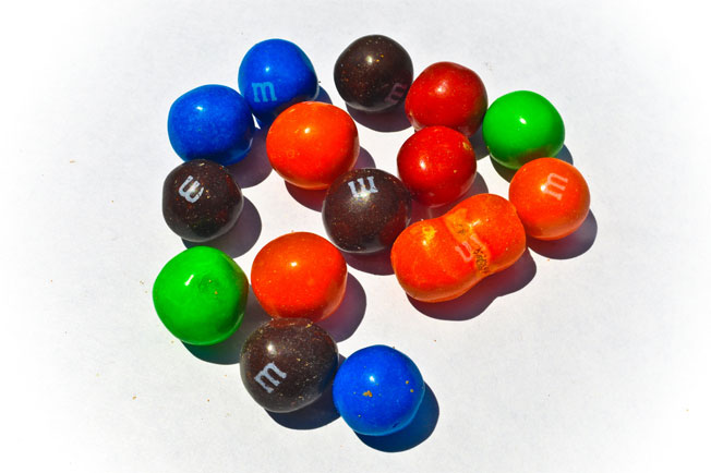 M&M's Is Really Nice After Accidentally Triggering Your Mint Allergy