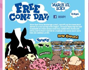 Ben & Jerry's And Starbucks Both Giving Away Free Food Tomorrow