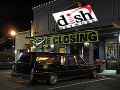 Dish Network Wins Blockbuster For $320 Million At Auction, Swears It Was Just Raising Its Hand To Wave To A Friend