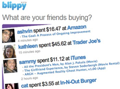 Blippy Realizes People Don't Want A Social Network Where You Share All Your Credit Card Purchases Online