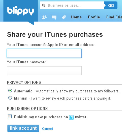 Upgrades: Blippy Lets You Screen Out Single Purchases