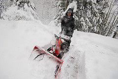 If Your Snowblower Clogs Too Easily, Check The Shear Pin