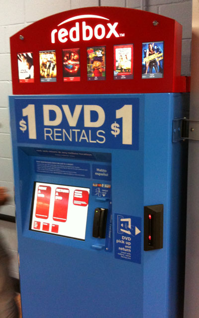 Blue Redbox Experiencing A Severe Identity Crisis