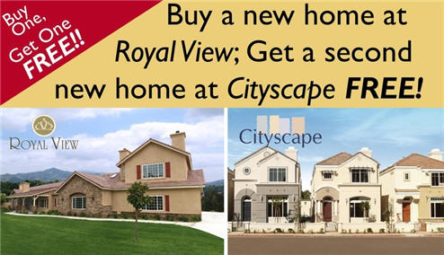 "New Houses Are Now ""Buy One Get One Free"" In San Diego"