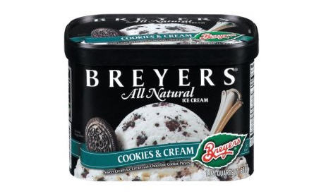 Breyer's Ice Cream Has Tara Gum