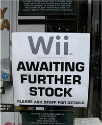 Wii Shortage To Last Through The Holidays?