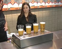 "The ""World's Fastest Beer Machine"" Fills Cups From The Bottom Up"
