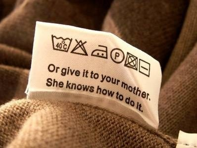 Clothing Care Labels For Dummies
