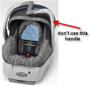Evenflo Recalls 450,000 Car Seats Due To Fall Hazard