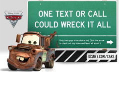DOT & Disney Team Up To Fight Distracted Driving, Promote New Movie