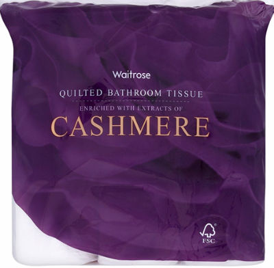 "Cashmere Toilet Paper Cheaper Than Wiping With ""Luxury Knitwear"""