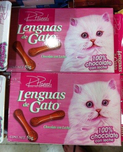 For Some Reason The Idea Of Cat Tongue Candy Is Less Than Appetizing
