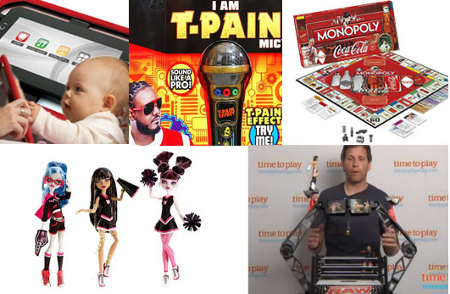 Tablet For Tots, Coca-Cola Monopoly, T-Pain Toy Mic Among Worst Toy Of The Year Nominees