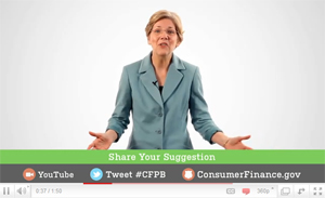 Send Your Ideas To The Consumer Financial Protection Bureau's New Website