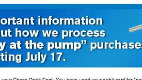 Chase Wants To Alert You To Important New Policy Change… Four Days After It Goes Into Effect