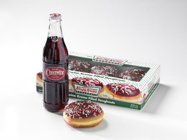 Cheerwine-Filled Krispy Kremes Are Back, Tennessee Can Bite In Too