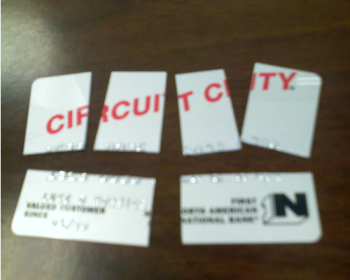 Man Can't Track Down Phantom Circuit City/Chase/Best Buy Credit Card