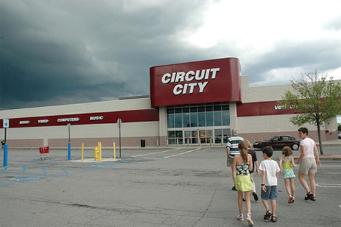 UPDATED: Breaking: Circuit City Closing 155 Stores