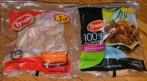 Shylockian Shrink Ray Extracts Pound Of Flesh From Tyson Frozen Chicken Wings