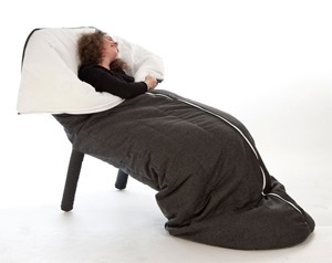 Cocon Is A Sleeping Bag Chair