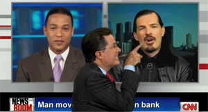 Colbert Interviews The Vampire Who Foreclosed On Wells Fargo