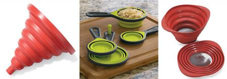 Save Space with Collapsible Kitchen Goods