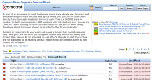 Get Help In Comcast Direct Forums