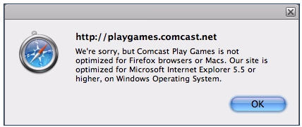 Does Comcast Hate Mac And Firefox?