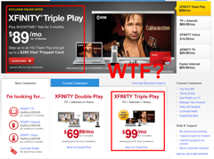Comcast Isn't Sure How Much It Wants To Charge For Xfinity Triple Play