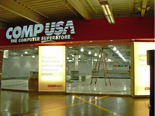 CompUSA Selling Empty Boxes