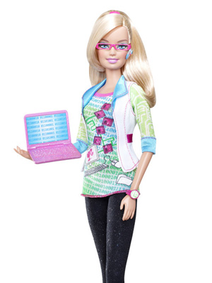Computer Engineer Barbie Thinks Math Is Awesome And Lucrative