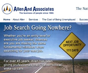 Allen & Associates Promises Professional Career Help, Delivers Questionable Results