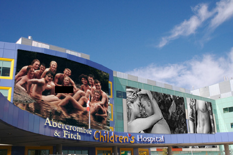 Would You Take Your (Really Hot) Kid To The Abercrombie & Fitch Emergency Department And Trauma Center?