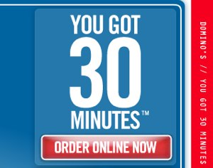 Domino's Pizza: Sacrificing Our Delivery Drivers So We Can Use Our New Slogan
