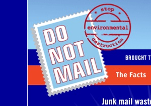 """Do Not Mail"" Junk Mail Registry Called For By Green Group"