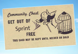 "Sprint Mails Customers A ""Get Out Of Sprint Free"" Card"