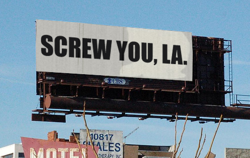 LA Has 4,000 Illegal Billboards, But City Looks On Helplessly