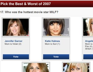 AOL Moviefone Aks Everyone To Choose Hottest MILF