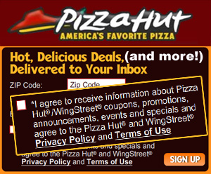 Pizza Hut Forces You To Opt-In To Spam Marketing When Ordering Online