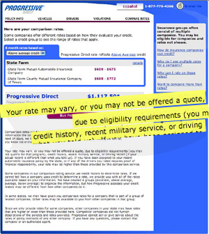 "Why Is Progressive Using ""Recent Military Service"" To Determine Rates And Eligibility?"