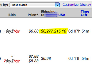 Shipping Is Getting Expensive
