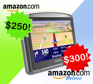 Want To Use Amazon Prime? You'll Pay $50 More For This TomTom Unit