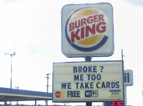 Burger King Lets You Charge Your Whopper