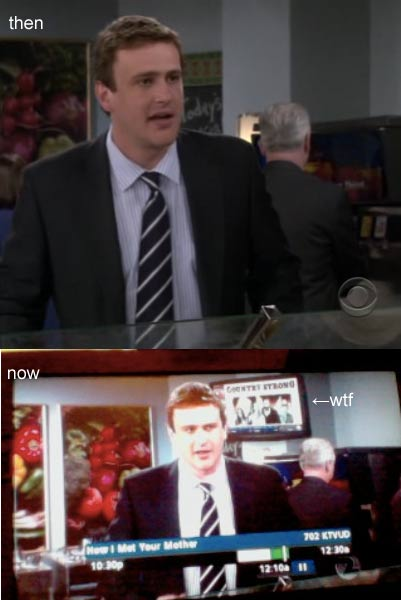 "TV With 2011 ""Country Strong"" Promo Inserted Into 2009 HIMYM Rerun"
