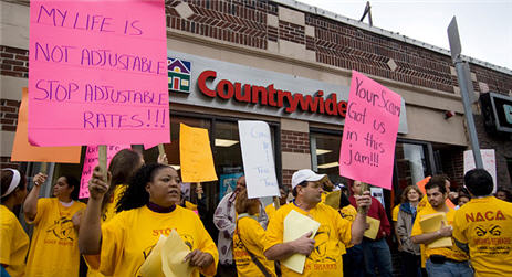 Critics Say Countrywide Isn't Doing Enough To Help Foreclosed Homeowners
