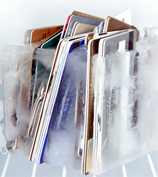Stop Spending By Freezing Your Credit Card In Ice