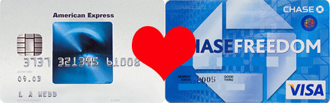 Max Your Cashback Combining American Express Blue Cash And Chase Freedom Cash Visa Credit Cards