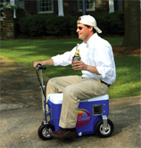 Cruzin' Cooler Is A Drink Cooler That You Can Ride