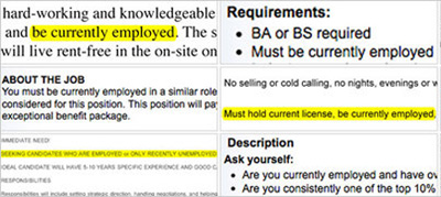 Don't Bother Applying For A Job Unless You Have One, Some Listings Say