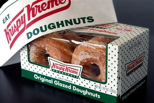 Krispy Kreme Unveils New Dipping Sauce: Ice Cream!